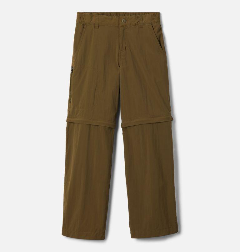 Silver Ridge™ IV Convertible Pant   328   XL Boys' Silver Ridge™ IV Convertible Pants, New Olive, front