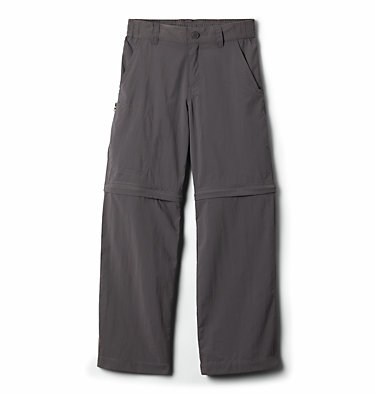 Boys' Silver Ridge™ IV Convertible Trousers Silver Ridge™ IV Convertible Pant | 327 | S, City Grey, front