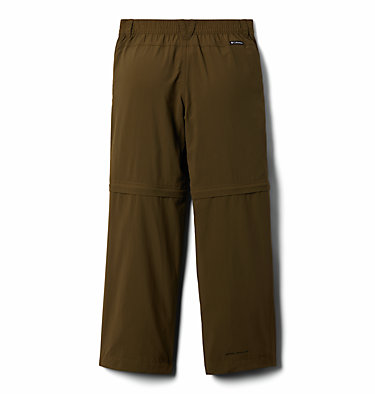 Boys' Silver Ridge™ IV Convertible Trousers Silver Ridge™ IV Convertible Pant | 327 | S, New Olive, back