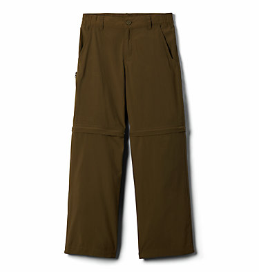 Boys' Silver Ridge™ IV Convertible Trousers Silver Ridge™ IV Convertible Pant | 327 | S, New Olive, front
