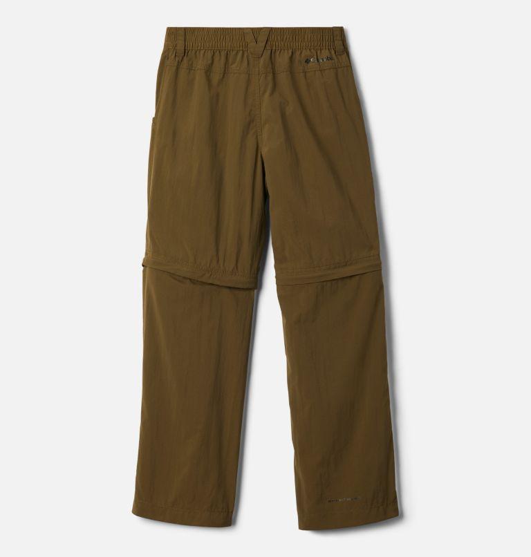Silver Ridge™ IV Convertible Pant | 328 | XS Boys' Silver Ridge™ IV Convertible Trousers, New Olive, back
