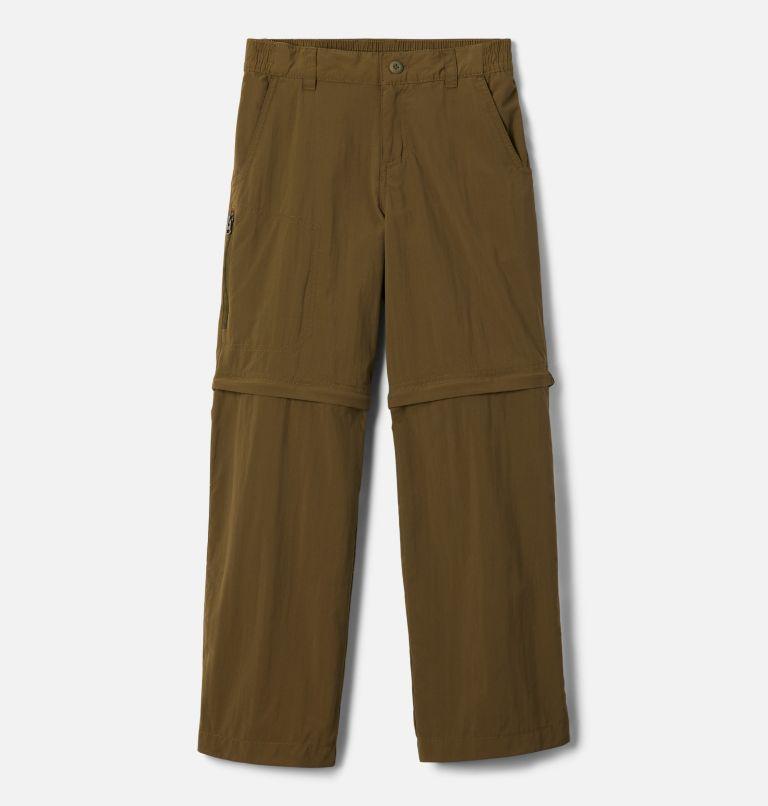 Silver Ridge™ IV Convertible Pant | 328 | XS Boys' Silver Ridge™ IV Convertible Trousers, New Olive, front