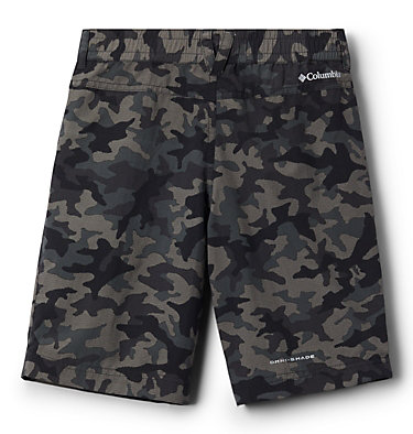 Boys' Silver Ridge™ Novelty Shorts Silver Ridge™Novelty Short | 316 | L, Black Traditional Camo, back