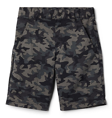 Boys' Silver Ridge™ Novelty Shorts Silver Ridge™Novelty Short | 316 | L, Black Traditional Camo, front