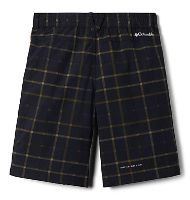 Boys' Silver Ridge™ Novelty Shorts Silver Ridge™Novelty Short | 316 | L, Black Plaid, back