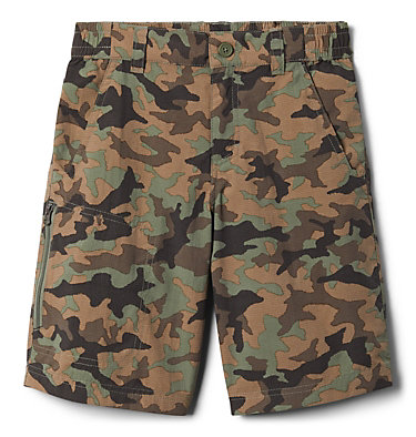 Boys' Silver Ridge™ Novelty Shorts Silver Ridge™Novelty Short | 316 | L, Cypress Traditional Camo, back
