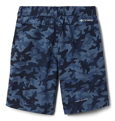 Boys' Silver Ridge™ Novelty Shorts Silver Ridge™Novelty Short | 316 | L, Collegiate Navy Traditional Camo, back