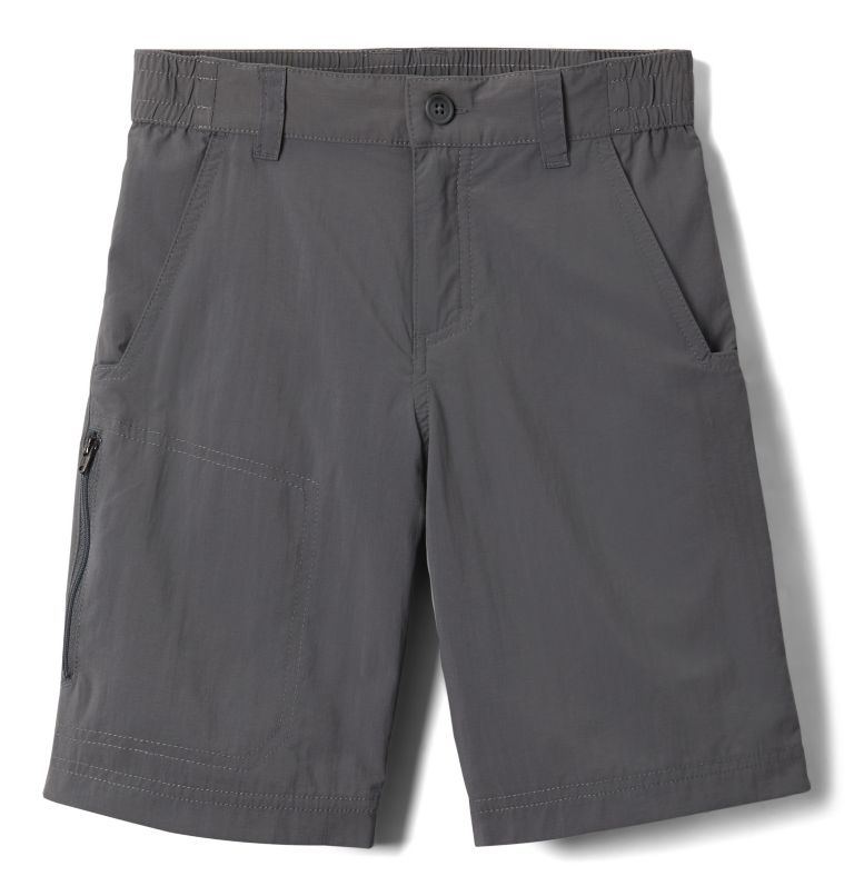 Silver Ridge™ IV Short | 023 | S Boys' Silver Ridge™ IV Shorts, City Grey, front