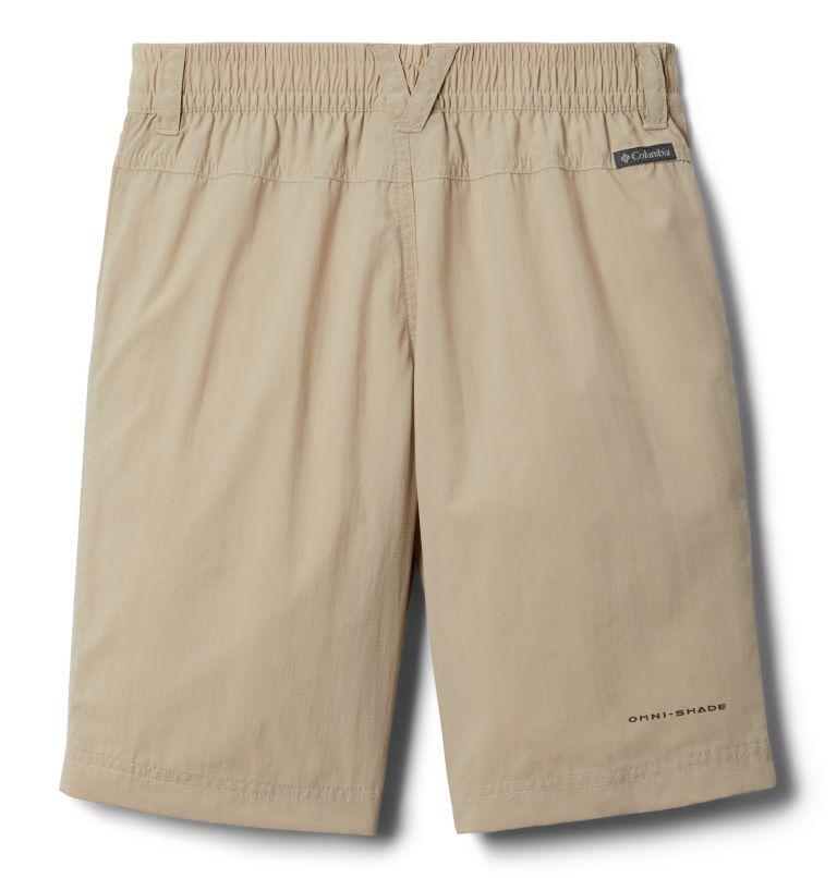 Silver Ridge™IV Short | 160 | S Boys' Silver Ridge™ IV Shorts, Fossil, back