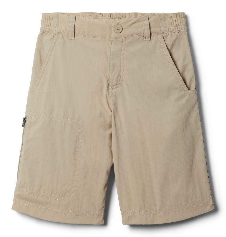 Silver Ridge™IV Short | 160 | S Boys' Silver Ridge™ IV Shorts, Fossil, front