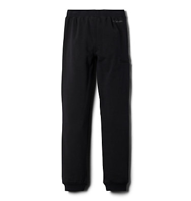 Boys' Columbia™ Branded French Terry Jogger Pant Columbia™ Branded French Terry Jogger | 010 | L, Black, back