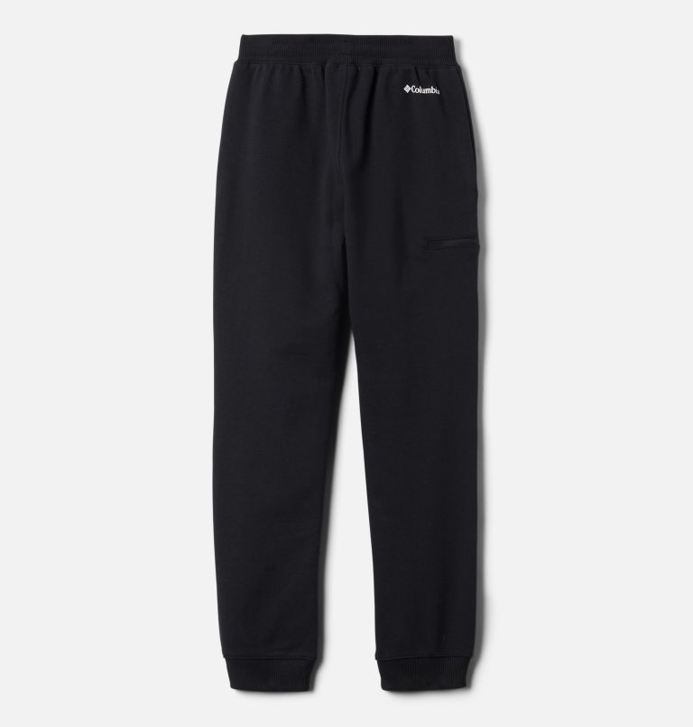 Columbia™ Branded French Terry Jogger | 011 | XL Boys' Columbia™ Branded French Terry Joggers, Black, back