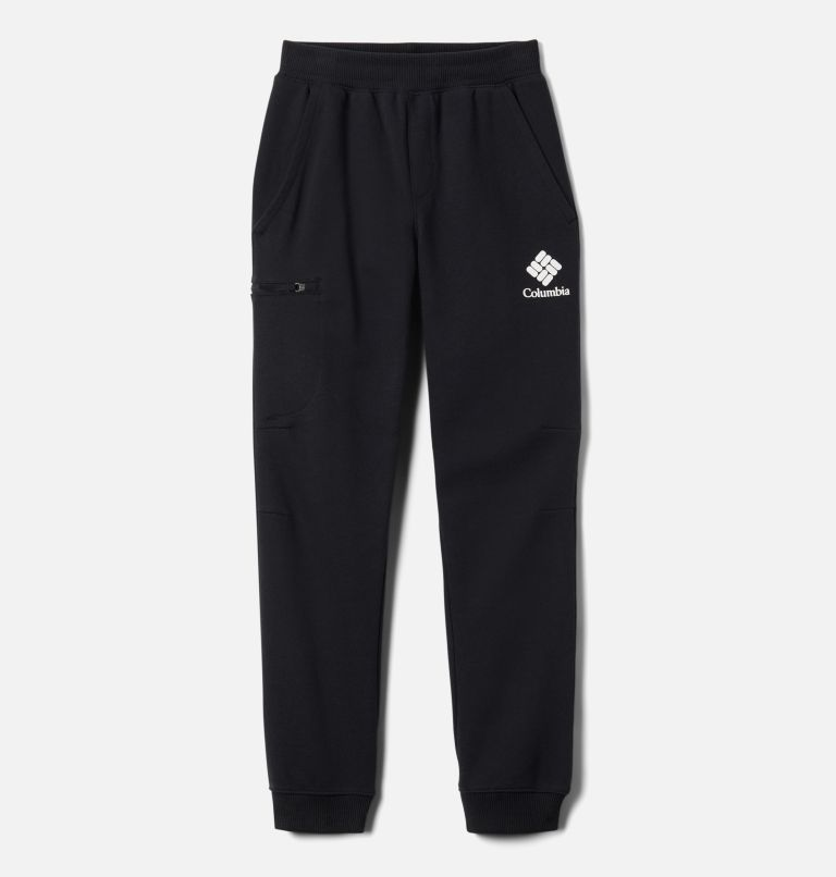Columbia™ Branded French Terry Jogger | 011 | XL Boys' Columbia™ Branded French Terry Joggers, Black, front
