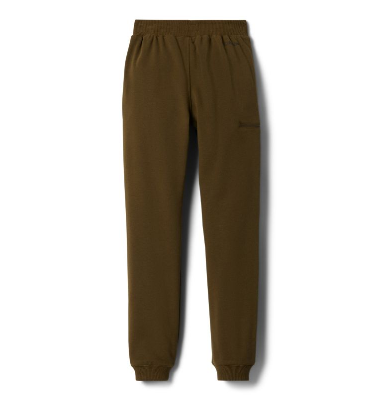 Columbia™ Branded French Terry Jogger | 327 | XL Boys' Columbia™ Branded French Terry Joggers, New Olive, back