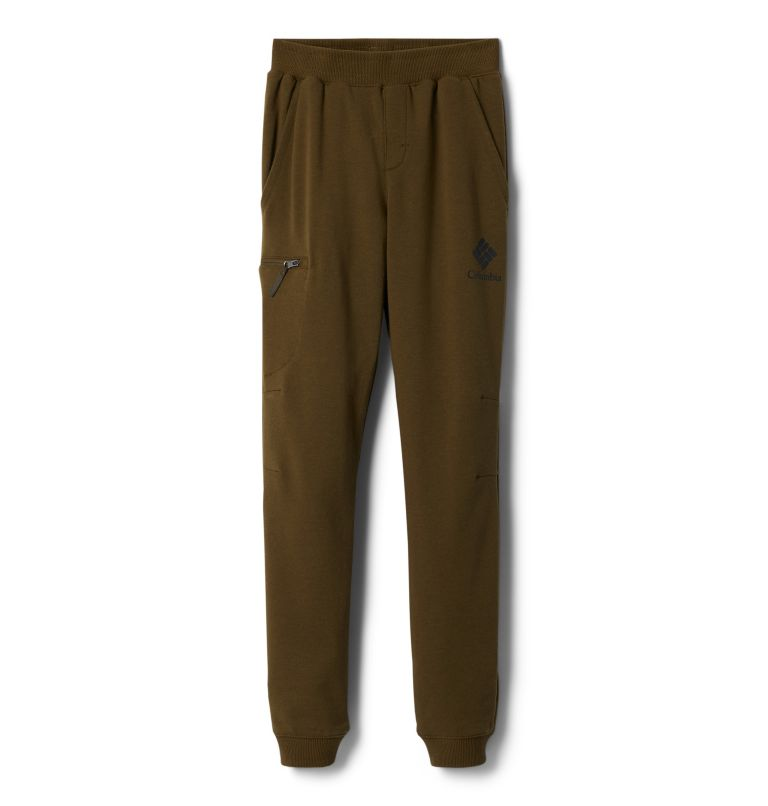 Columbia™ Branded French Terry Jogger | 327 | XL Boys' Columbia™ Branded French Terry Joggers, New Olive, front