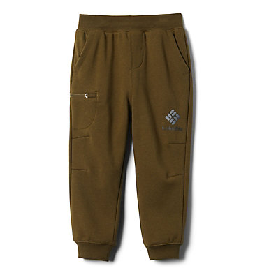 Boys' Toddler Columbia™ Branded French Terry Joggers Columbia™ Branded French Terry Jogger | 397 | 4T, New Olive, front