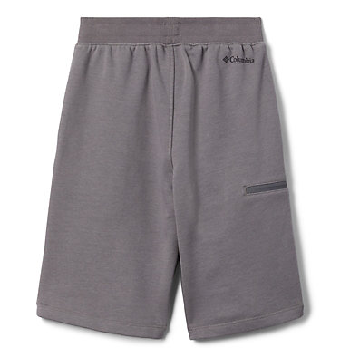 Boys' Columbia™ Branded French Terry Shorts Columbia™ Branded French Terry Short | 023 | L, City Grey, back