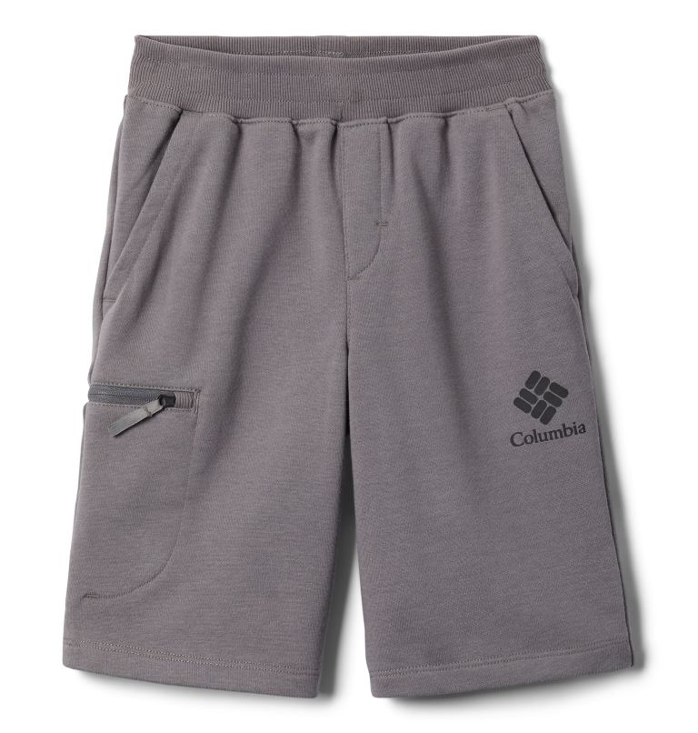 Boys' Columbia™ Branded French Terry Shorts Boys' Columbia™ Branded French Terry Shorts, front