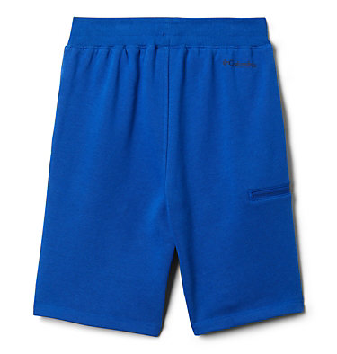 Boys' Columbia™ Branded French Terry Shorts Columbia™ Branded French Terry Short | 023 | L, Azul, back