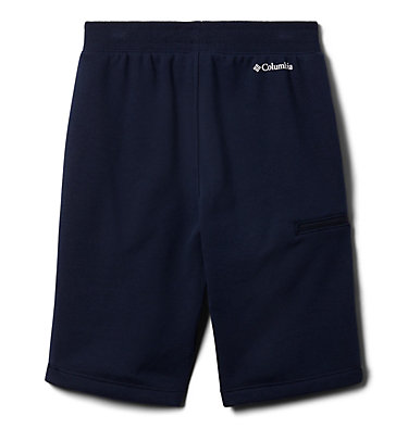 Boys' Columbia™ Branded French Terry Shorts Columbia™ Branded French Terry Short | 464 | L, Collegiate Navy, back