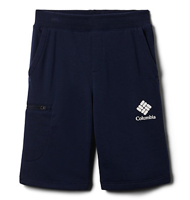 Boys' Columbia™ Branded French Terry Shorts Columbia™ Branded French Terry Short | 023 | L, Collegiate Navy, front