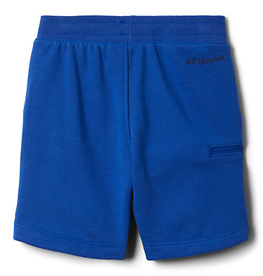 Boys' Toddler Columbia™ Branded French Terry Shorts Columbia™ Branded French Terry Short | 437 | 3T, Azul, back