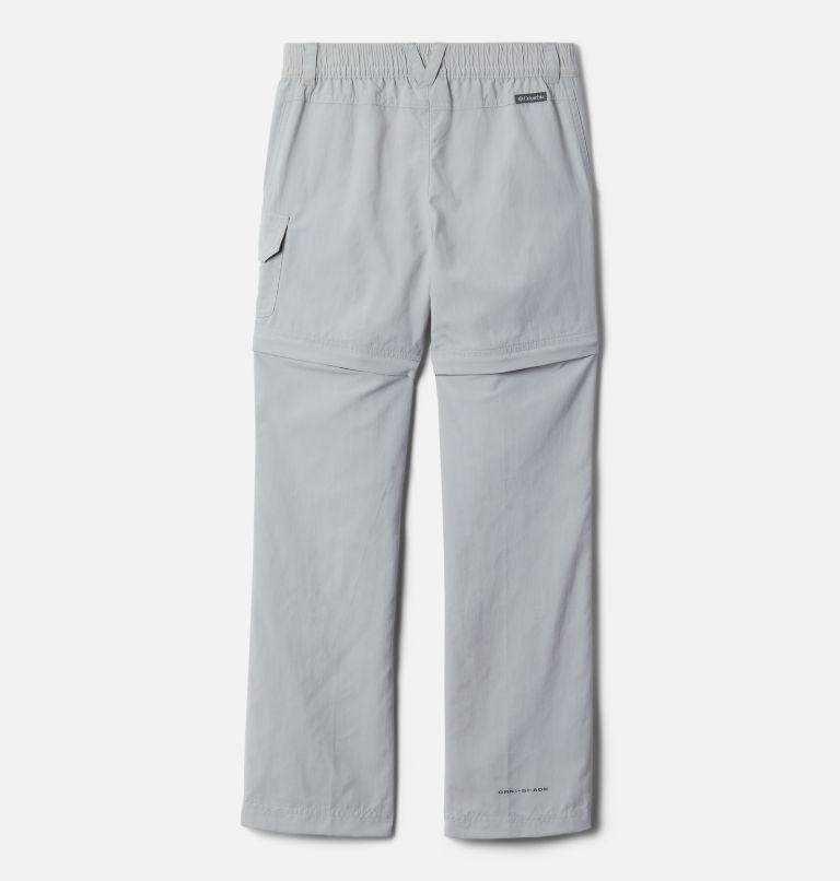 Silver Ridge™ IV Convertible Pant | 039 | L Girls' Silver Ridge™ IV Convertible Pants, Columbia Grey, back