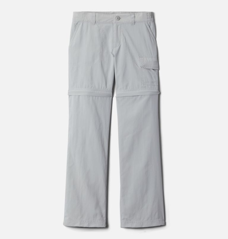 Silver Ridge™ IV Convertible Pant | 039 | L Girls' Silver Ridge™ IV Convertible Pants, Columbia Grey, front
