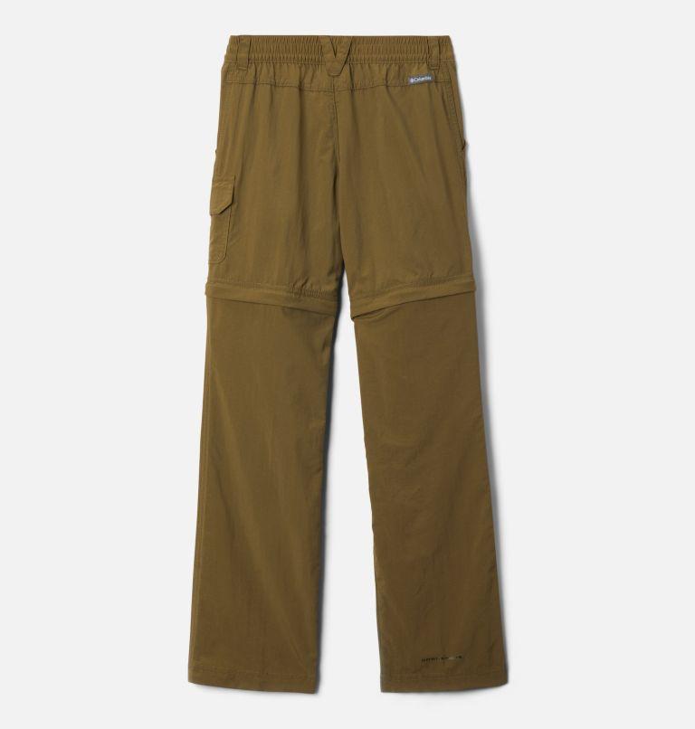 Silver Ridge™ IV Convertible Pant | 327 | XS Girls' Silver Ridge™ IV Convertible Pants, New Olive, back