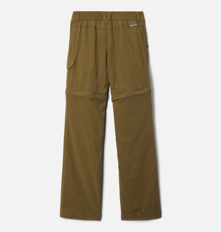 Silver Ridge™ IV Convertible Pant | 327 | XXS Girls' Silver Ridge™ IV Convertible Pants, New Olive, back
