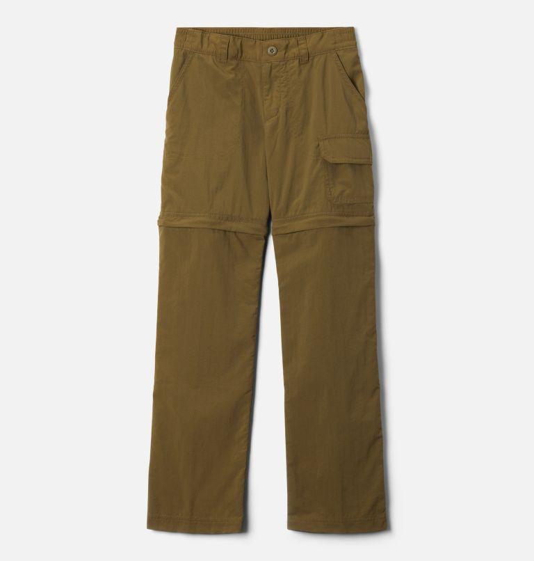 Silver Ridge™ IV Convertible Pant | 327 | XS Girls' Silver Ridge™ IV Convertible Pants, New Olive, front