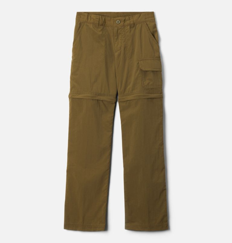 Silver Ridge™ IV Convertible Pant | 327 | XXS Girls' Silver Ridge™ IV Convertible Pants, New Olive, front