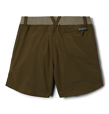 Girls' Silver Ridge™ Novelty Shorts Silver Ridge™Novelty Short | 468 | XXS, New Olive, Sage, back
