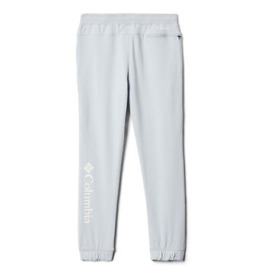 Girls' Columbia™ Branded French Terry Joggers Columbia™ Branded French Terry Jogger | 031 | L, Cirrus Grey Heather, back