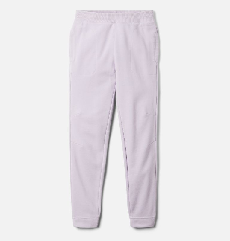Girls' Columbia™ Branded French Terry Joggers Girls' Columbia™ Branded French Terry Joggers, front