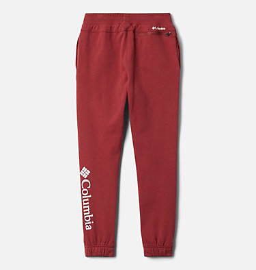 Pantalon de jogging en tissu éponge Columbia Branded pour fille Columbia™ Branded French Terry Jogger | 619 | XL, Marsala Red, back