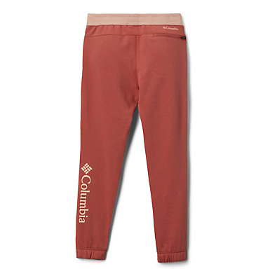 Pantalon de jogging en tissu éponge Columbia Branded pour fille Columbia™ Branded French Terry Jogger | 619 | XL, Dark Coral, back