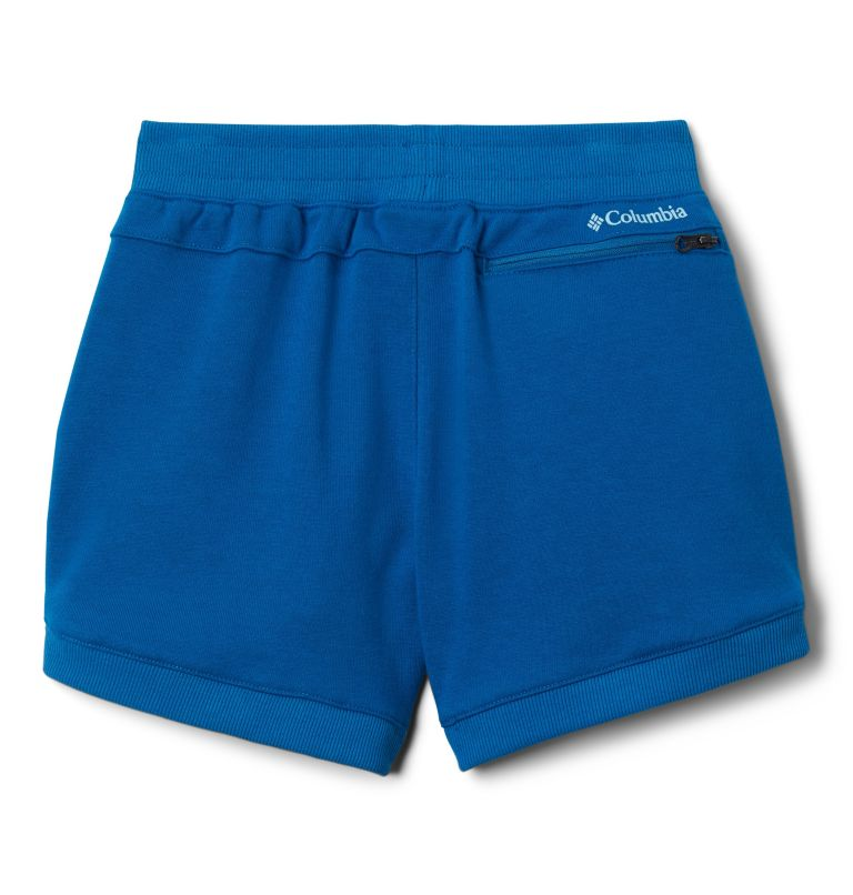 Girls' Columbia™ Branded French Terry Shorts Girls' Columbia™ Branded French Terry Shorts, back