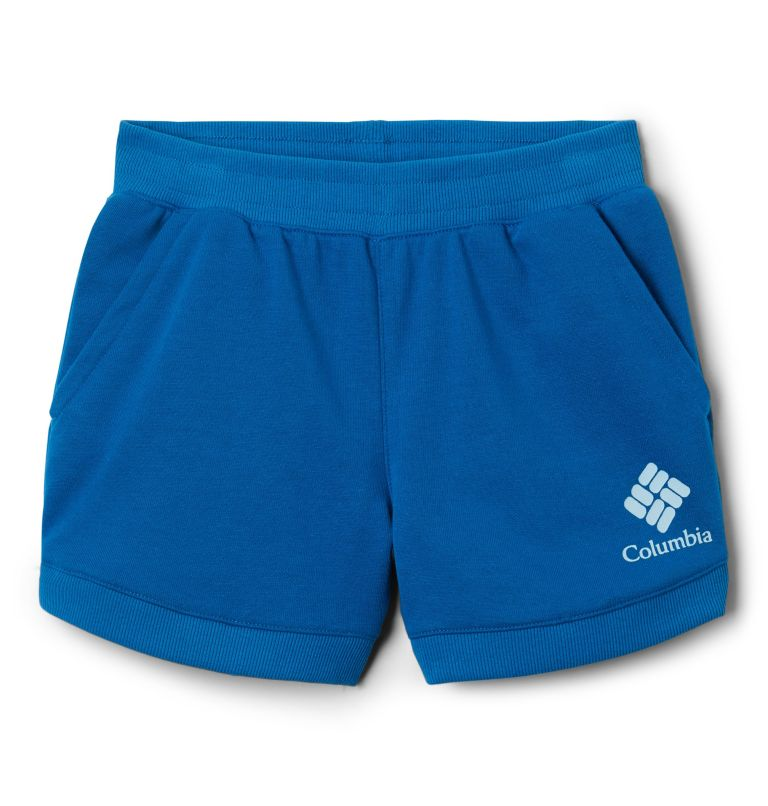 Girls' Columbia™ Branded French Terry Shorts Girls' Columbia™ Branded French Terry Shorts, front