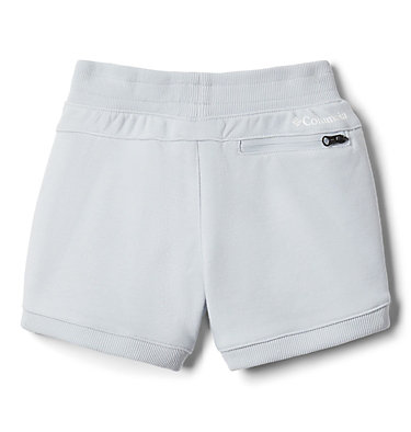 Girls' Toddler Columbia™ Branded French Terry Shorts Columbia™ Branded French Terry Short | 031 | 2T, Cirrus Grey Heather, back