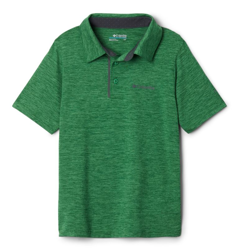 Tech Trek™ Polo | 362 | L Boys' Tech Trek™ Polo, True Green, front