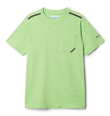 Boys' Tech Trek™ Short Sleeve Shirt Tech Trek™ Short Sleeve Tee | 327 | L, Green Mamba Heather, front