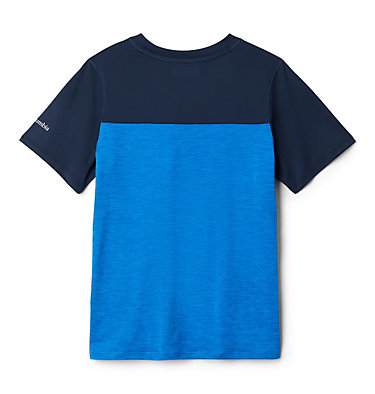 T-shirt Tech Trek™ Garçon Tech Trek™ Short Sleeve Tee | 023 | L, Azure Blue Heather, Collegiate Navy, back