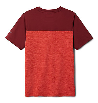 T-shirt à manches courtes Tech Trek™ pour garçon Tech Trek™ Short Sleeve Tee | 378 | L, Wildfire Heather, Red Jasper, back