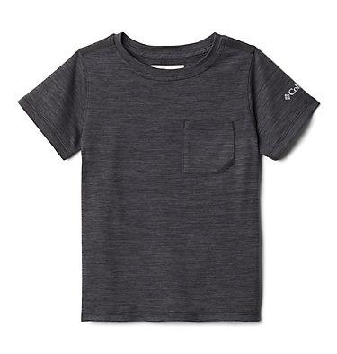 Boys' Toddler Tech Trek™ T-Shirt Tech Trek™ Short Sleeve Tee | 432 | 2T, Black Heather, front