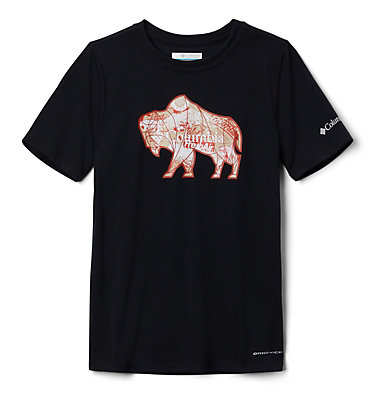 Boys' Ranco Lake™ Short Sleeve Tee Ranco Lake™ Short Sleeve Tee | 790 | L, Black Iconic Roamer, back