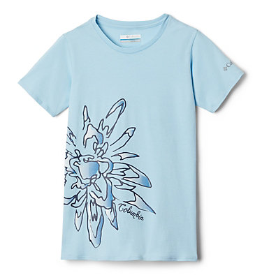 Peak Point™ T-Shirt für Mädchen Peak Point™ T-Shirt | 634 | L, Spring Blue Side Treatment, front