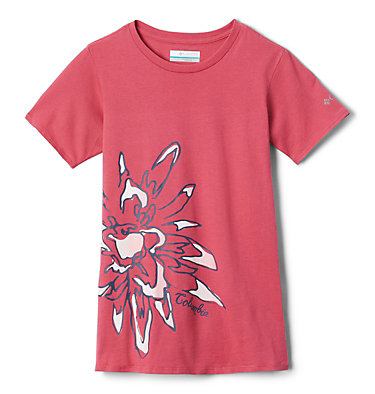 Camiseta Peak Point™ para niña Peak Point™ T-Shirt | 634 | L, Rouge Pink Side Treatment, front