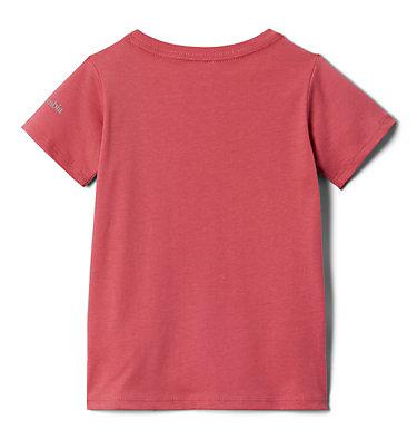 Girls' Toddler Peak Point™ T-Shirt Peak Point™ T-Shirt | 634 | 2T, Rouge Pink Side Treatment, back