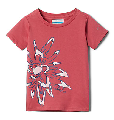 Girls' Toddler Peak Point™ T-Shirt Peak Point™ T-Shirt | 634 | 2T, Rouge Pink Side Treatment, front